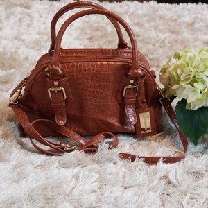 Liz Claiborne alligator style purse